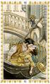 로멘틱 타로(Romantic Tarot) 덱 이름에서도 알 수 있듯 '남녀간의 사랑'을 주제로 만들어 연애상담에 최적화 되었습니다. 마이너 아르카나를 유럽의 주요 도시인 비엔나, 베니스, 파리, 로마로 표현하고 있다는 점이 특징입니다. 마치 18~19세기 소설의 삽화를 보는 듯 한 화풍과 부드러운 색감으로 내담자를 사로잡습니다.