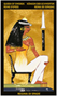 Nefertari Tarot(네페르타리 타로) 덱 네페르타리를 사랑했던 절대권력자 이집트 람세스 2세는 그녀의 죽음을 기리기 위해 거대한 무덤을 만들었습니다. 그리고 그 무덤 내 아름다운 상징물은 이 덱의 모티브가 되었습니다. 이집트 특유의 2차원 화풍과 고급스러운 금박은 이 덱을 더욱 매력적으로 만듭니다.