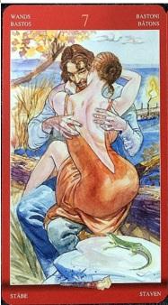 섹슈얼매직 (Sexual magic tarot) 연애 심리 및 애정 문제에 특화 된 카드로 직설적이고 은밀한 카드이다